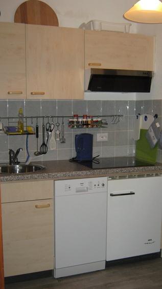 Küchenzeile am Esszimmer