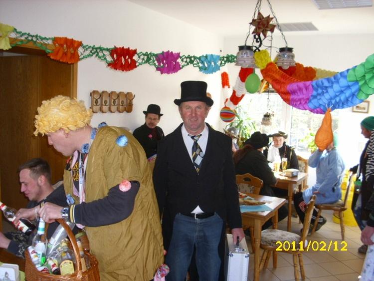 Das  Zampern ist eine alte sorbische Tradition in  in zahlreichen Dörfern der Lausitz