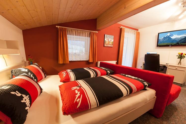 "Sleeping room ""Edel"" with 42"" TV and balcony"