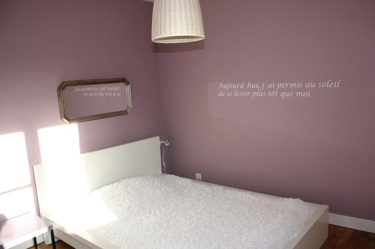 Das rosa Schlafzimmer