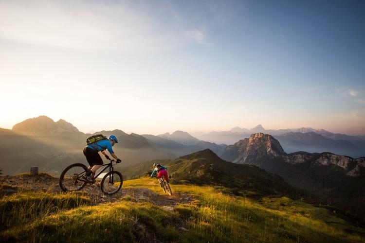 Radfahren, Mountainbike, Appartement, FeWo, Österreich Kärnten See www.ferienwohnung-plozner.at