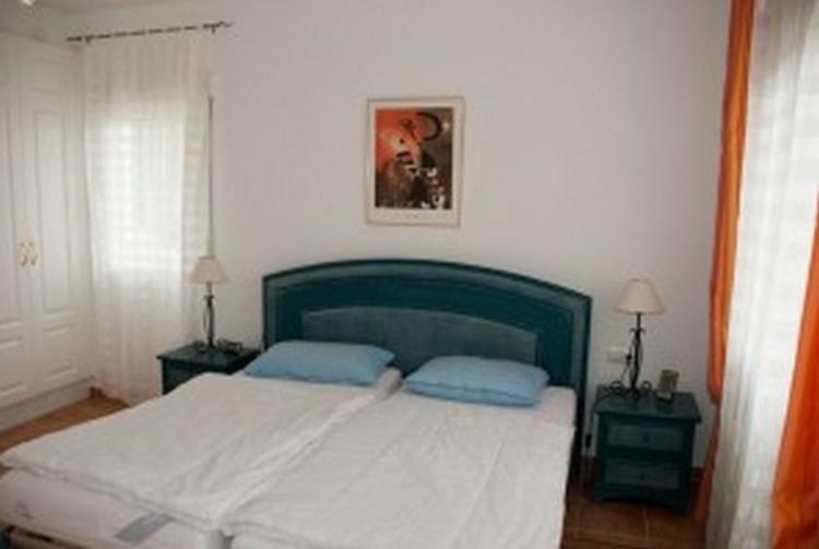 Schlafzimmer mit Meerblick im OG