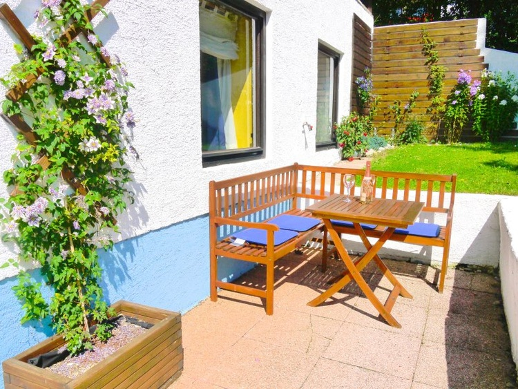 Private Terrace in a sunny position