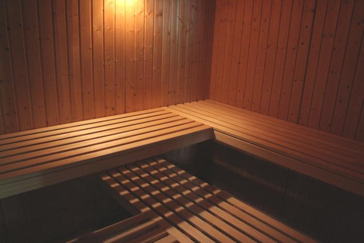 Sauna für bis zu 6 Personen