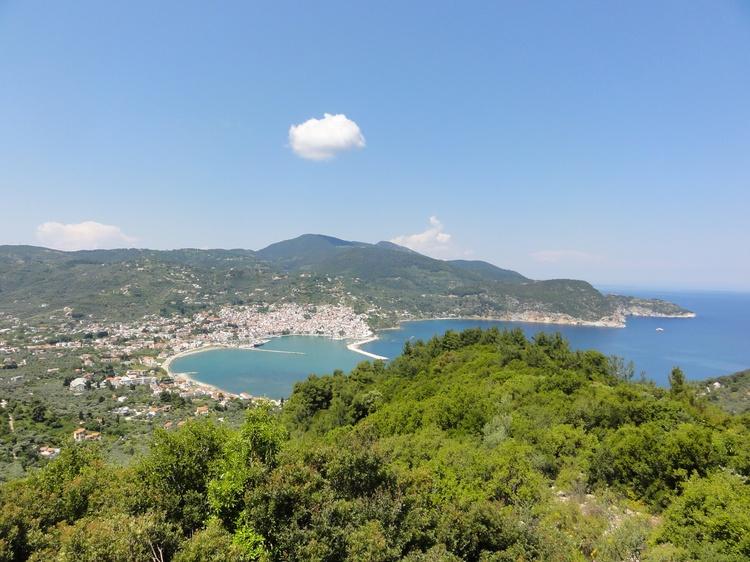 Sicht auf Skopelos vom Palouki