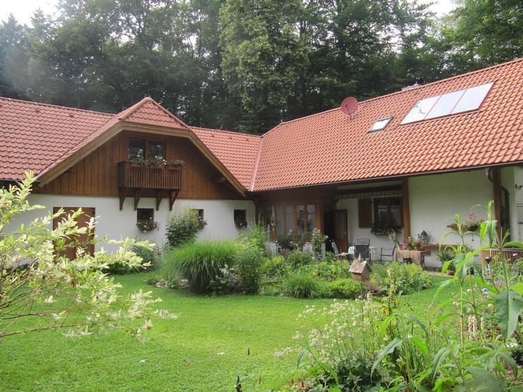 Haus und Gartenteil