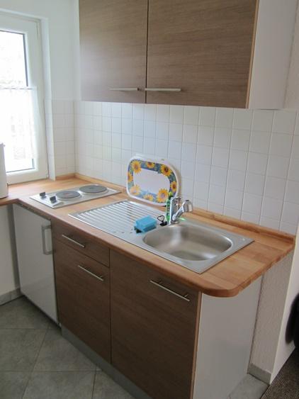 Kleine Küche mit Kochzeile