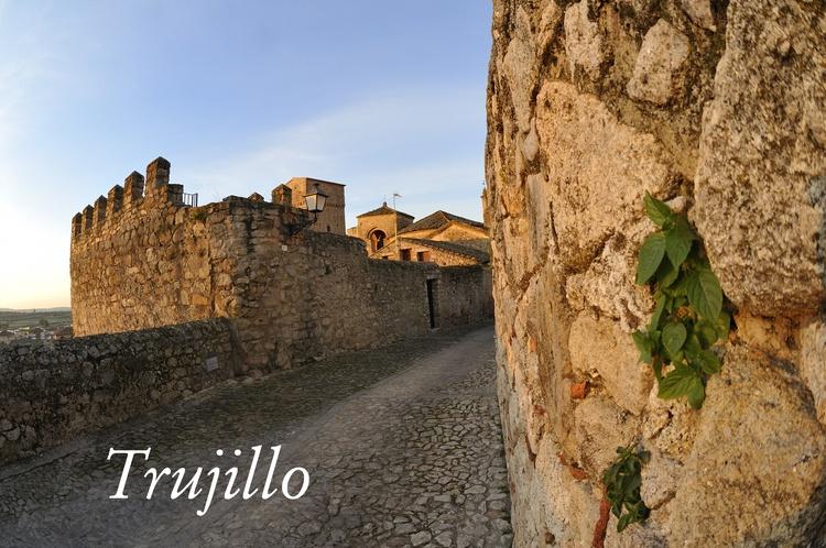 Trujillo, medieval town