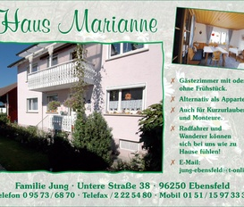 Appartment Ebensfeld
