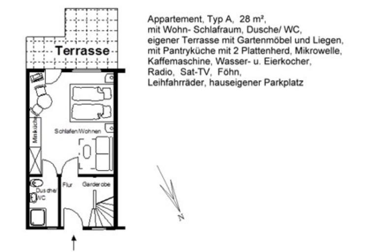 Grundriss Appartement