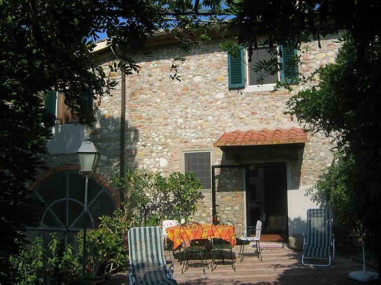 Terrasse- Eingang