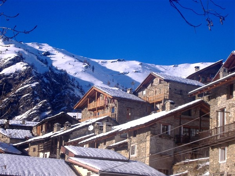 View of Morinesio in the winther season