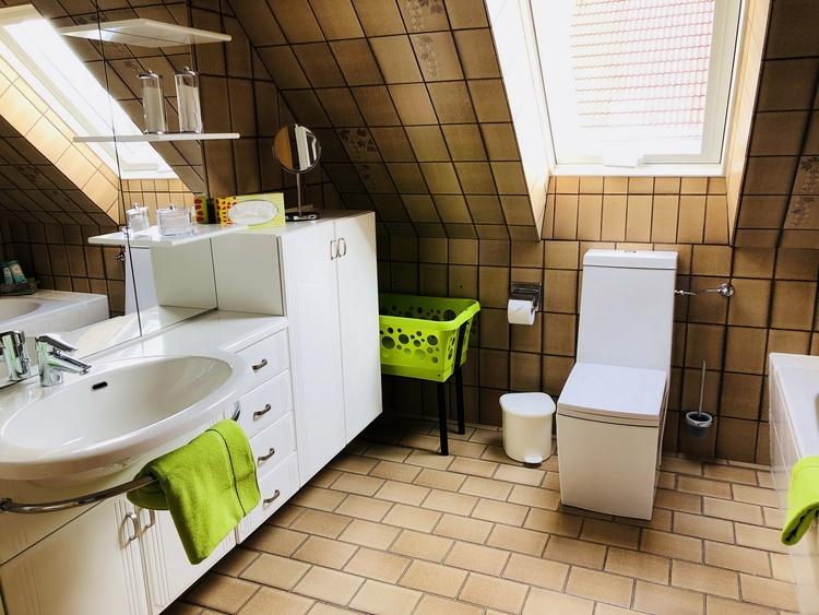 Bathroom - Holiday Room Nordseeflair