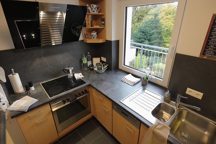 Ferienhaus Däschinger Goldener Mond fully equipped kitchen