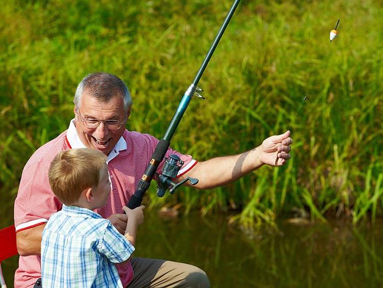 Angelspaß für Groß und Klein. Gästefischereikarte.