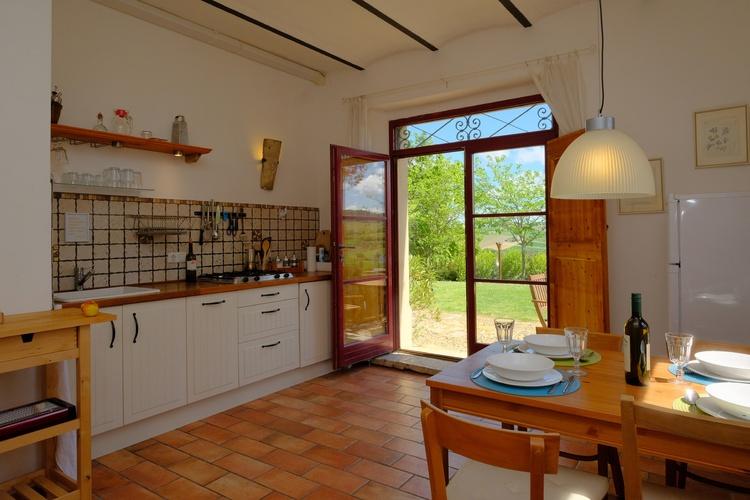 Wohnküche Whg. Cantina