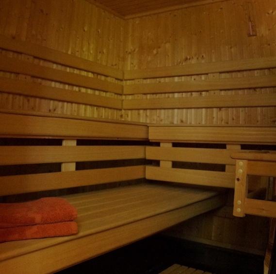 Finnische Sauna im Ferienhaus