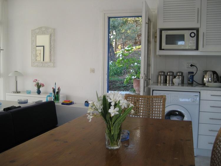 Blick aus Küche