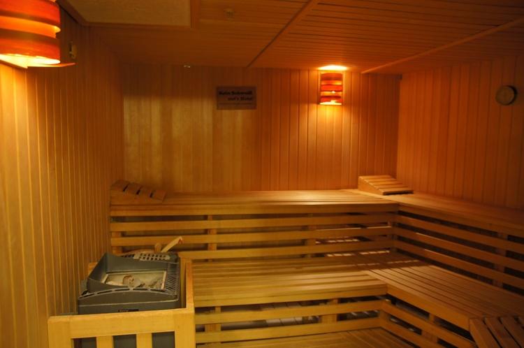 Sauna kostenlos im Preis enthalten