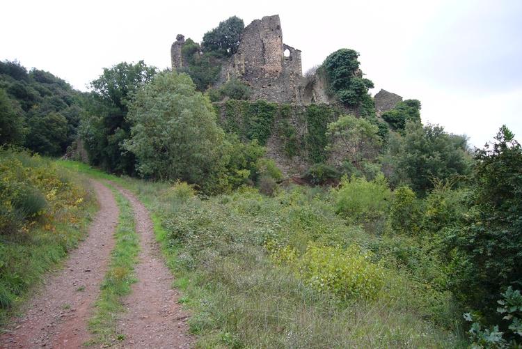 Ruine des Schloss von Octon