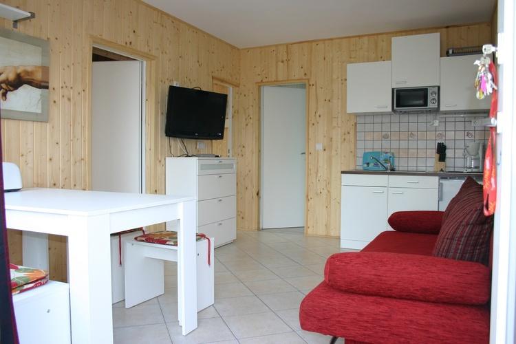 Wohnessbereich im Apartment