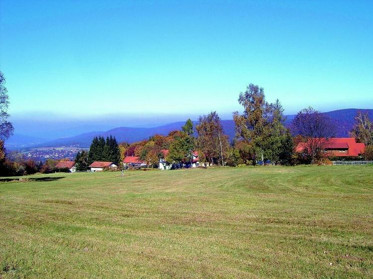 Bergplateau Klammerfels, 100m vom Wald