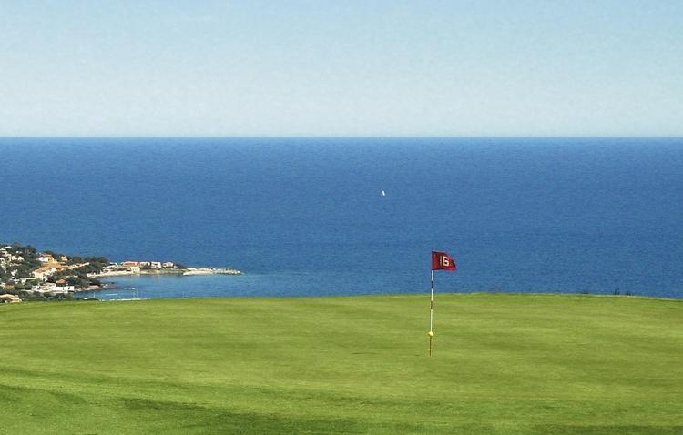 Der Golfplatz von Sainte Maxime