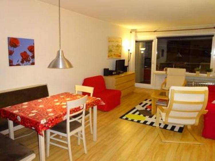 Wohnbereich Wohnung Gämse 232.Genug Platz für alle