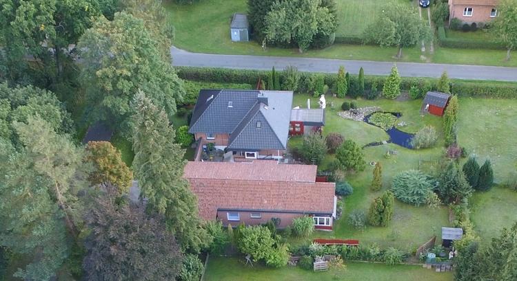 Ihr Ferienhaus, das mit dem roten Dach