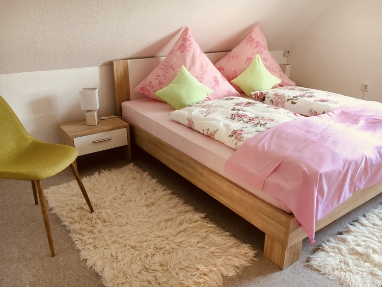 """Bedroom """"Scholle"""" - Holiday Room Nordseeflair"""