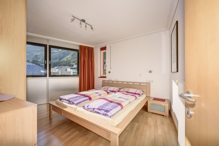 double room in the apartment