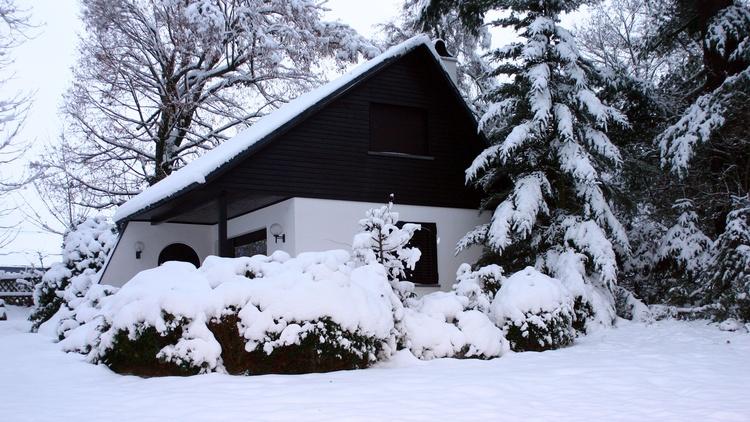 Das Erzgebirge ist eine der ersten Regionen Deutschlands, wo der Schnee fällt