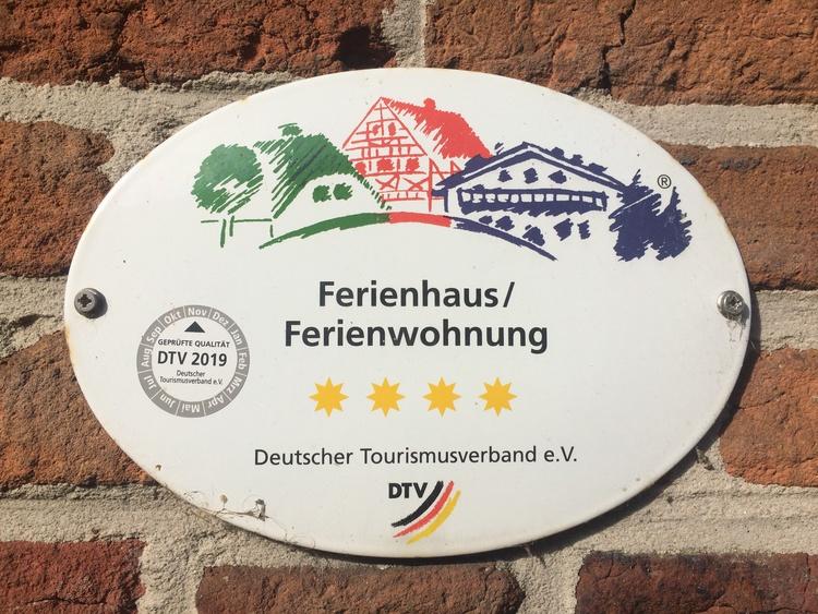 Vom Deutschen Tourismusverband mit 4 **** zertifiziert