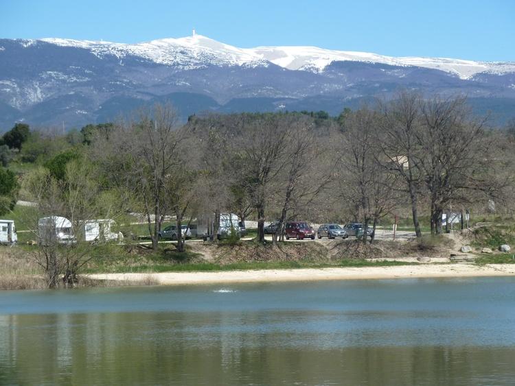 lake, 10 km away