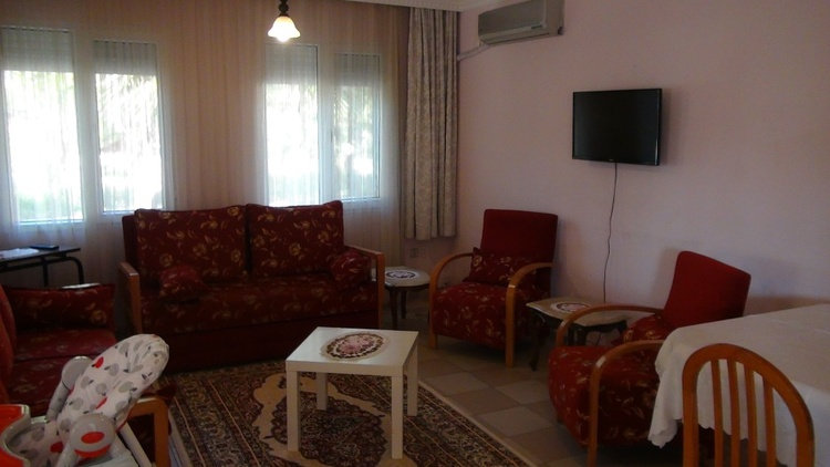 Our livingroom with aircondition