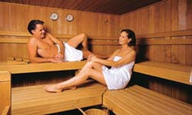 Sauna, für unsere Gäste kostenlos zu benützen