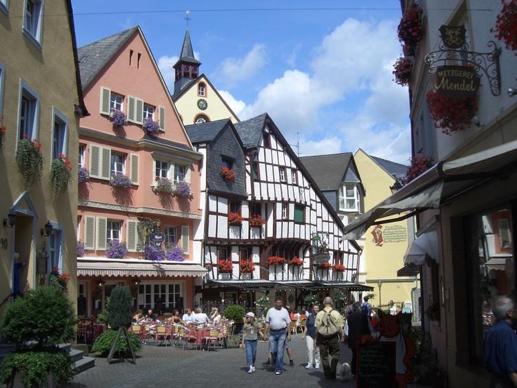 Die mittelalterlichen Straßen
